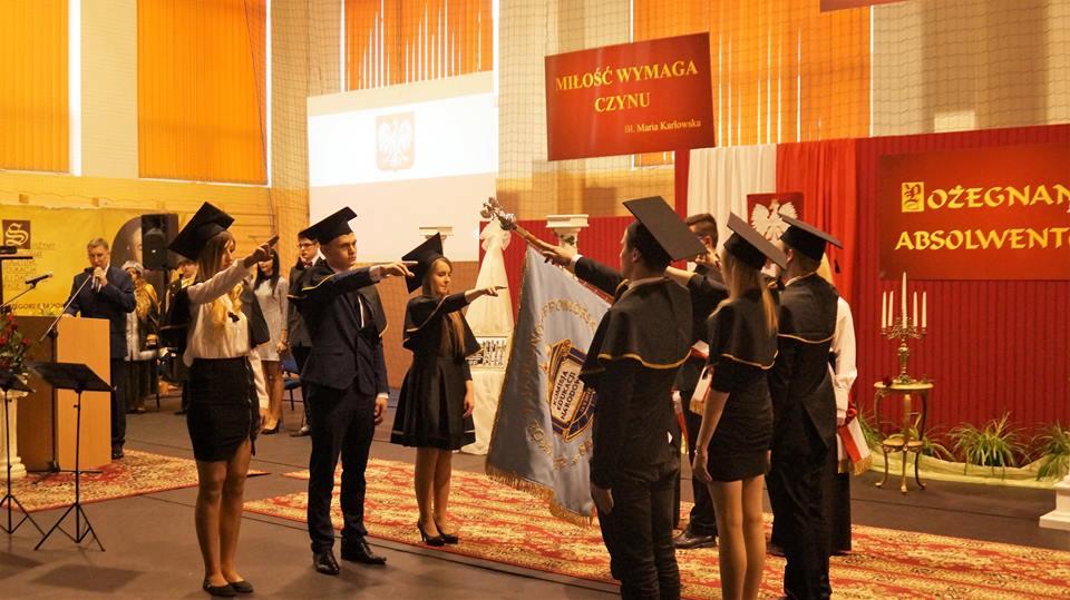 Pożegnanie absolwentów 2017