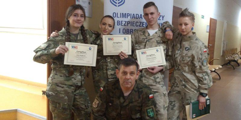 Sukces mundurowców z Zespołu Szkół