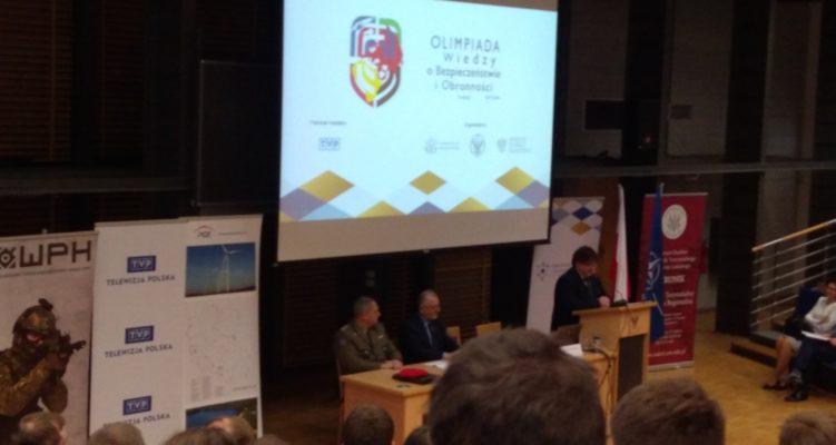 II edycja Ogólnopolskiej Olimpiady Wiedzy o Bezpieczeństwie  i Obronności