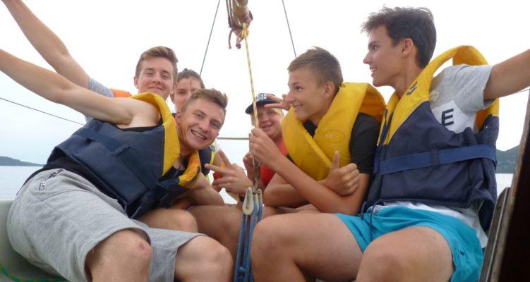 Obóz astronomiczno-żeglarski w Chorwacji