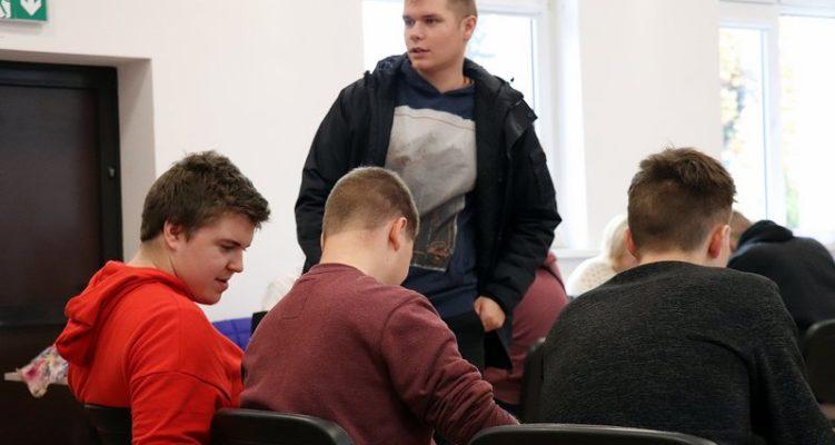 Nasi uczniowie podczas 46 zbiórki krwi w Jabłonowie Pomorskim