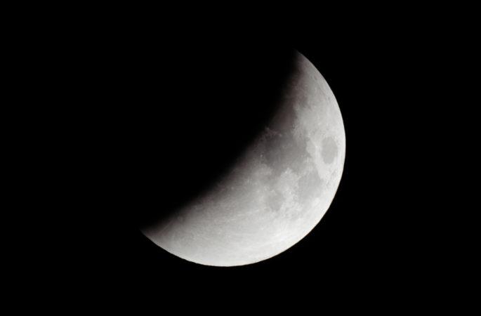 Zaćmienie Księżyca w 50 rocznicę startu misji Apollo 11